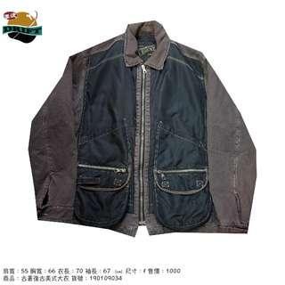 古著復古美式大衣