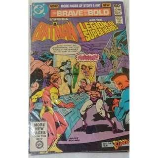 DC Brave and Bold #179 comic