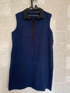Dress biru zalora