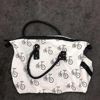 Bike print bag