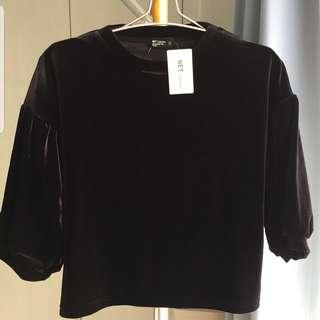 NET Velvet blouse(New)