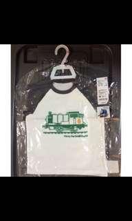 🚚 Uniqlo 湯瑪士小火車短袖上衣 90cm