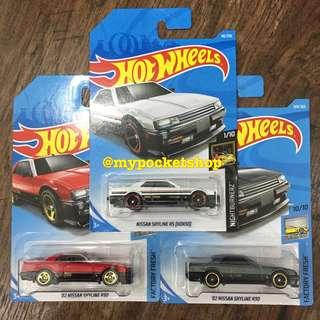 🚚 3x Hot Wheels NISSAN SKYLINE R30