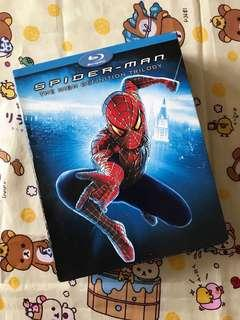 Spider-Man 1-3集Blu-ray藍光碟(套裝)