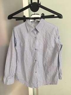 TIDE QUEEN Stripes Shirt