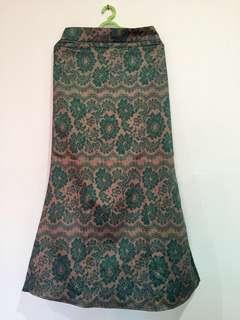 Floral Printed Mermaid Skirt #TRU50