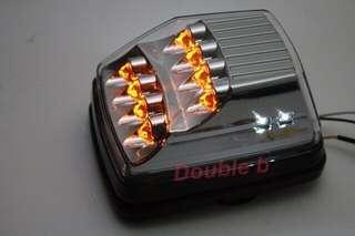 Double b BENZ W463 G CAR G320 G350D G500 G55 G63 LED 晶鑽 方向燈