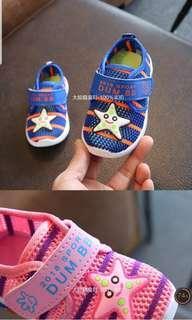 🚚 星星透氣學步軟鞋