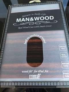IPad Air wood cover