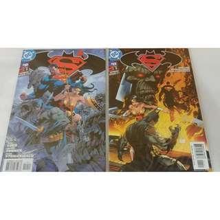 DC Superman Batman #10-11 comic Turner Jim Lee cover
