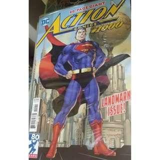 DC Action Comics #1000 Jim Lee