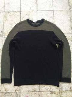 Sweater H&M Knit Two-Tone BNWT