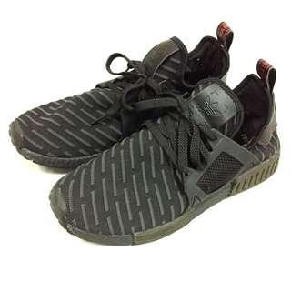 adidas NMD Xr1 PK Boost Triple Black Ba7214 Primeknit US9.5