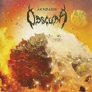 NM obscura vinyl record limited clear 100 only akroasis