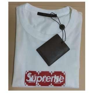 fe3237c2a21 Supreme X Louis Vuitton Box Logo Tee