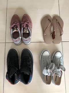 球鞋、休閒鞋、夾腳拖