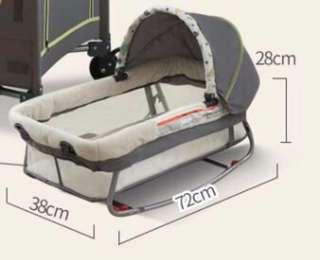 🚚 Mobile baby rocker and cradle