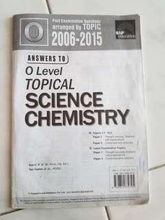 O'Level Science Chemistry and Physics