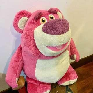 Authentic Disney Lotso Strawberry Scented Soft Toy