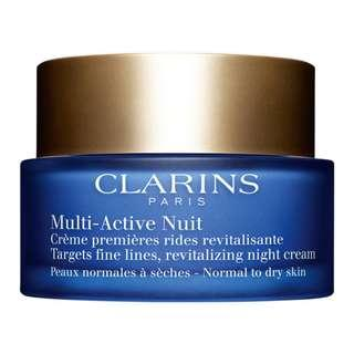 BRAND NEW CLARINS MULTI ACTIVE NIGHT NORMAL TO DRY SKIN 50ML