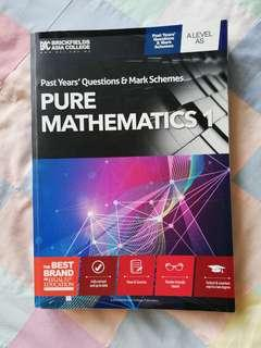 CIE A-LEVEL PURE MATHEMATICS 1 PAST YEAR QUESTIONS