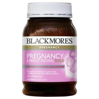 🚚 Blackmores孕哺媽媽維生素 Pregnancy and Breastfeeding Gold 180 顆