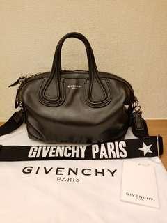 Givenchy black mini nightingale handbag