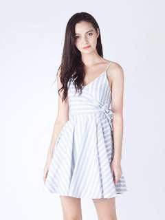 Carrie striped sundress