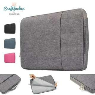 🚚 Laptop Sleeve with Inner Compartment/Handle, 11,13 & 15inch