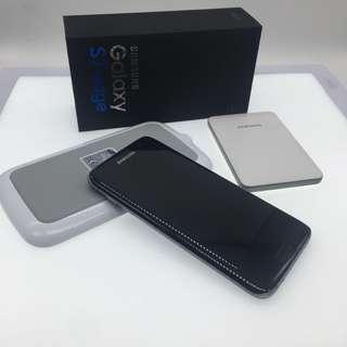 Samsung Galaxy S7 edge c/w wireless charger & Power bank
