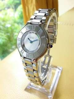 Cartier Must de Cartier 1340 Steel Quartz Ladies