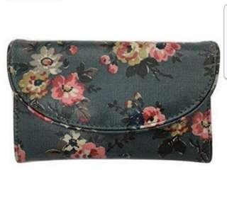 Cath Kidston Wallet Kingswood Rose Folded Curve Wallet