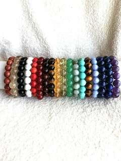 🚚 12mm Crystals Bracelets (Lucky Colours Based on the Year of Zodiac Pig)