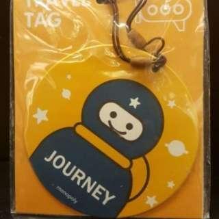 🚚 【現貨!!】韓國正品 Monopoly 1+1圓形行李吊牌組 (2入)【代購】