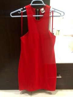 Red Dress (Bamboo Blonde)