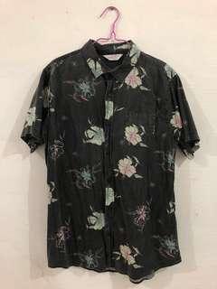 Men's Cotton On Denim Printed Shirt
