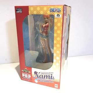 One Piece Portrait Of Pirates Limited Edition Mugiwara Nami P.O.P