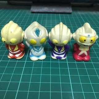 Ultraman toys nestle set