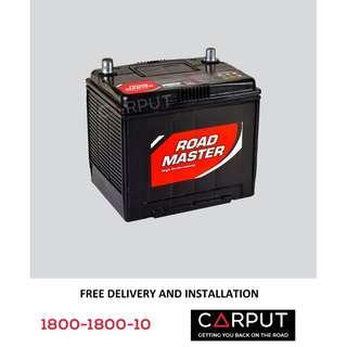 NS40ZL Car battery Century Roadmaster for PERODUA Myvi, Axia, Alza, Bezza, Viva, HONDA City. Bateri Kereta FREE Delivery & Installation for Klang Valley