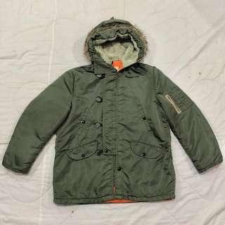 Windproof Military Parka Jacket