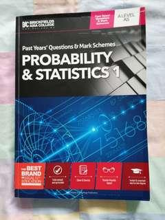 CIE A-LEVEL PROBABILITY AND STATISTICS 1 PAST YEAR QUESTIONS