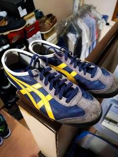 Onitsuka Mexico 66 Blue and Yellow Sneakers