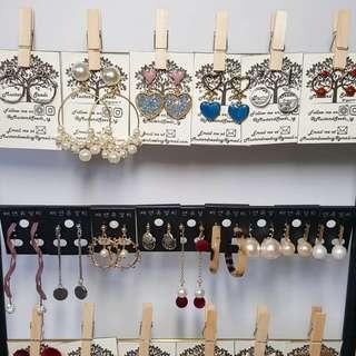 Korean Earrings - Post CNY Sale