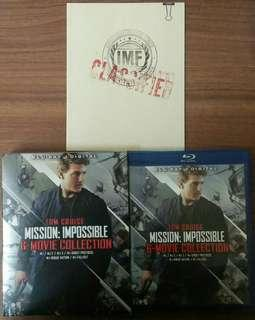 Blu-ray Mission Impossible 6 film Collection.