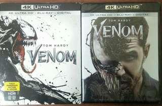 4K Blu-ray Venom