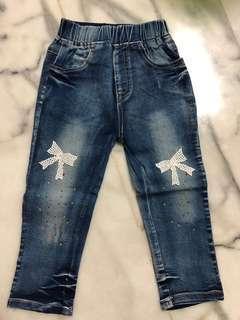 🚚 全新✨2-4y鬆緊牛仔褲