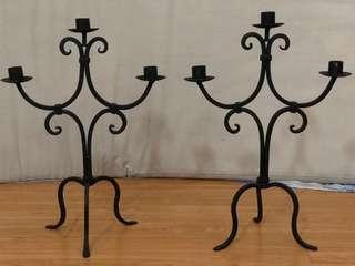 Set of 2 Candelabras