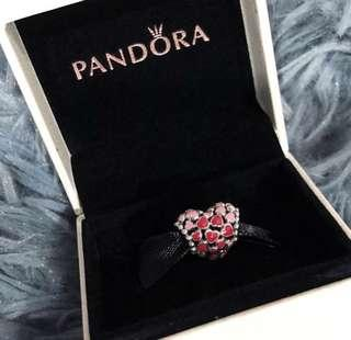 NEW PANDORA Burst of Love Charm