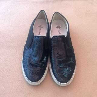 Black Sequence Shoes