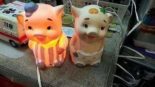 🚚 小豬燈